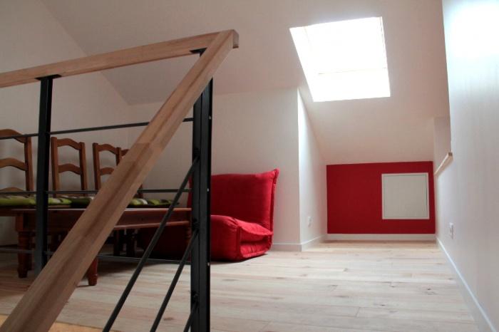 Maison R : mezzanine 1