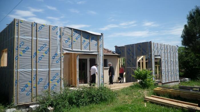 Extension Ossature Bois Pour Maison Individuelle 224