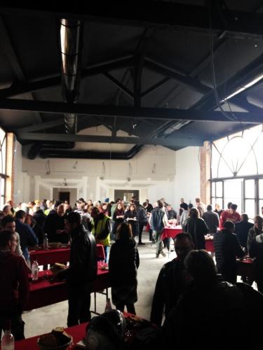 Rénovation du Manoir du Prince à Toulouse : Déjeuner de chantier (1).JPG