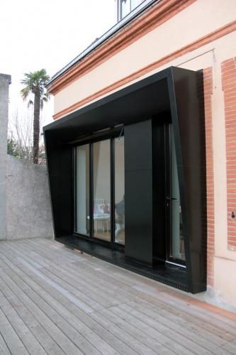 Architectes maison l3 toulouse c te for Architecte toulouse
