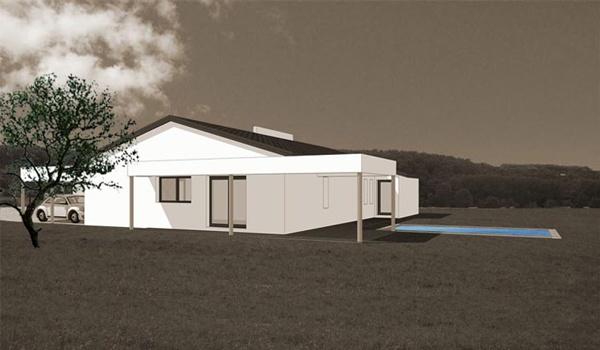 Maison Bioclimatique Buzet