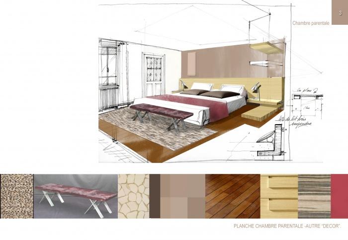 Avant projet appartement quartier des Chalets 31 : 3 copie