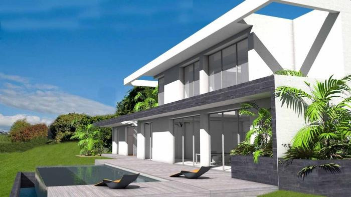 Maison Contemporaine Sur Terrain En Pente A Puycasquier Une Realisation De Atelier Scenario