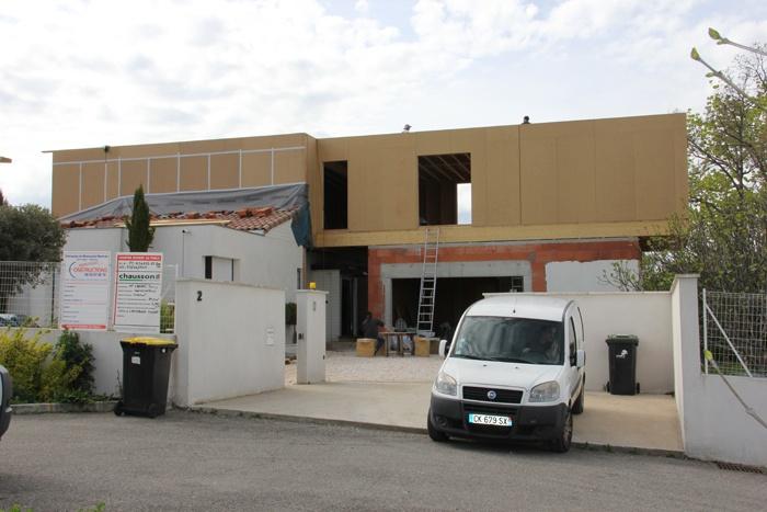 Surélévation maison à Lapeyrouse Fossat : Surélévation maison (2).JPG