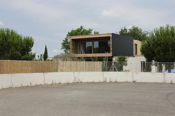 Surélévation maison à Lapeyrouse Fossat : surélévation toulouse.JPG