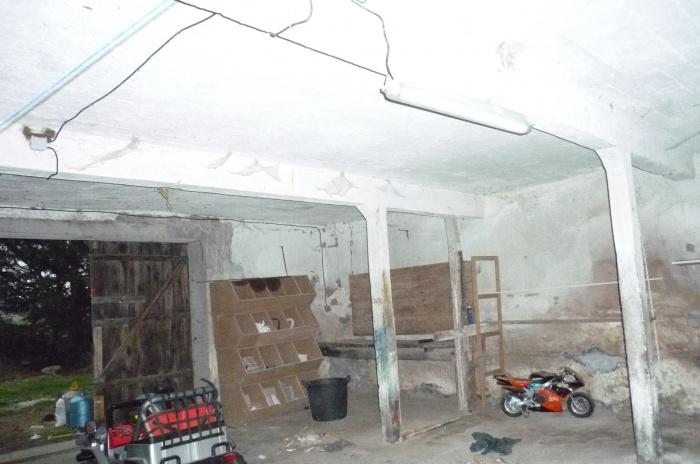 Rénovation d'une grange : Existant intérieur.jpeg