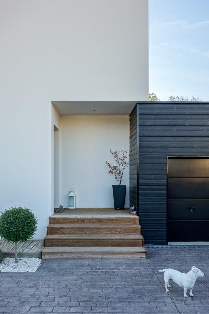 Maison cube architecte toute intrieur moderne cubique for Maison cube moderne