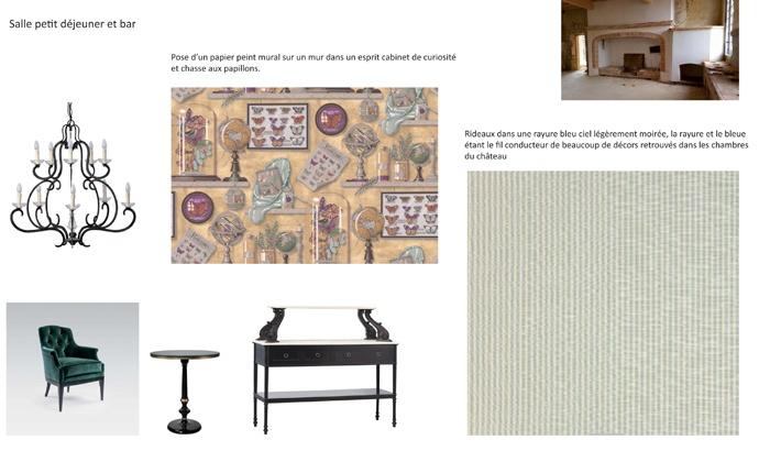 Réhabilitation du Chateau de Drudas : Planches mobililer et matériaux A3-6