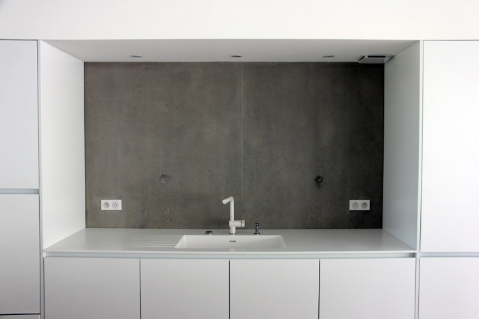 Maison P1 : contraste