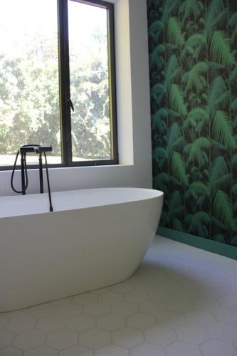 Maison P1 : tapisserie jungle