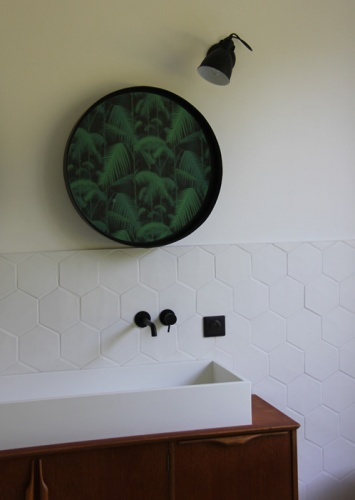 Maison P1 : vasque corian