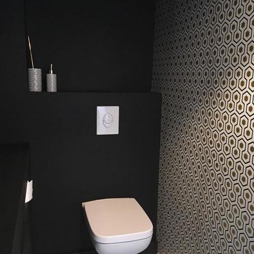 Maison P1 : Concrete house - wc