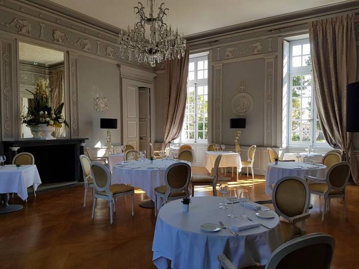 Réhabilitation du Chateau de Drudas : Chteau de Drudas- Salon 1
