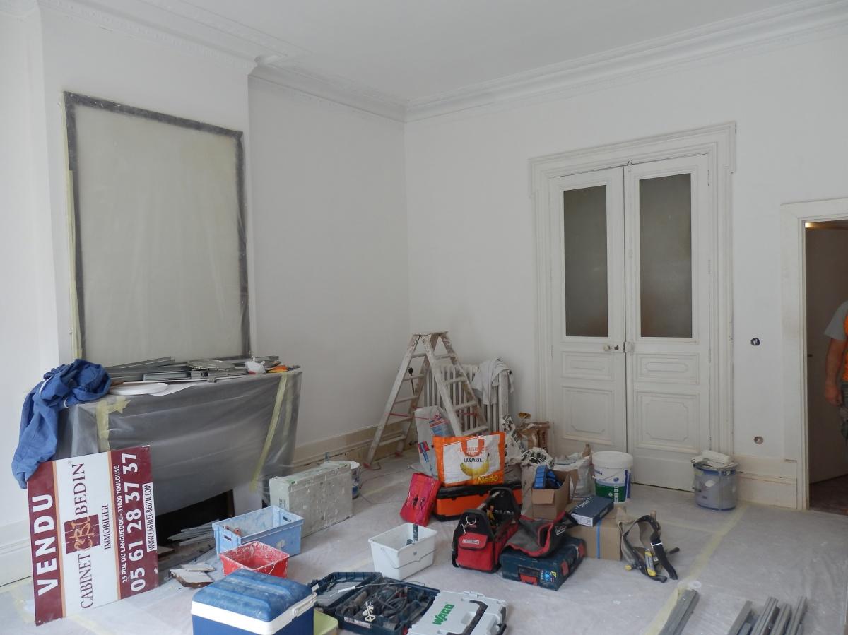 Rénovation complète d'un appartement Haussmannien : P7031452.JPG