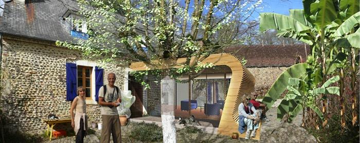 Extension d'une maison d'habitation (64)