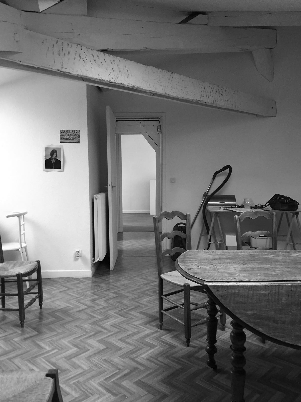 Rénovation d'un appartement 19ème et création d'un duplex : sous combles avant