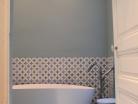 Rénovation salle d'eau et salle de bain dans maison bougeoise du 19 ème siècle