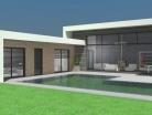 Maison contemporaine RT2012 à toit terrasse