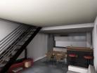 Création de trois appartements dans un hangar