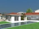 Villa contemporaine - Concept Intérieur - Extérieur