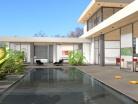 Villa contemporaine intérieur / extérieur
