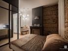 Création d'un bureau et d'une salle d'eau dans une chambre