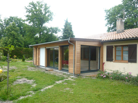 Combien coute un architecte pour une extension de maison for Extension maison 25m2