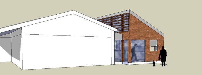 extension sur maison traditionnelle