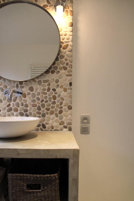 Rénovation Salle De Bain Toulouse : salle de bain 2 une salle de bain de caractère qui marie le béton et …
