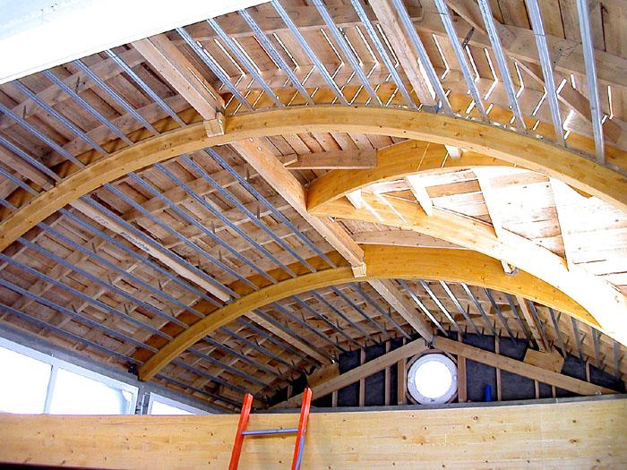 Architectes extensions sur l vation for Travail du zinc toiture